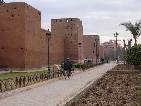 Les remparts Marrakech
