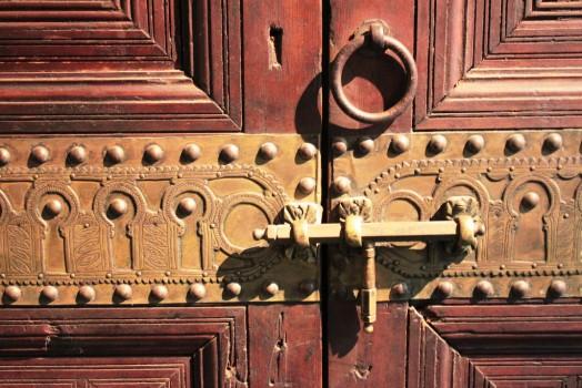 Portes du musée de Marrakech