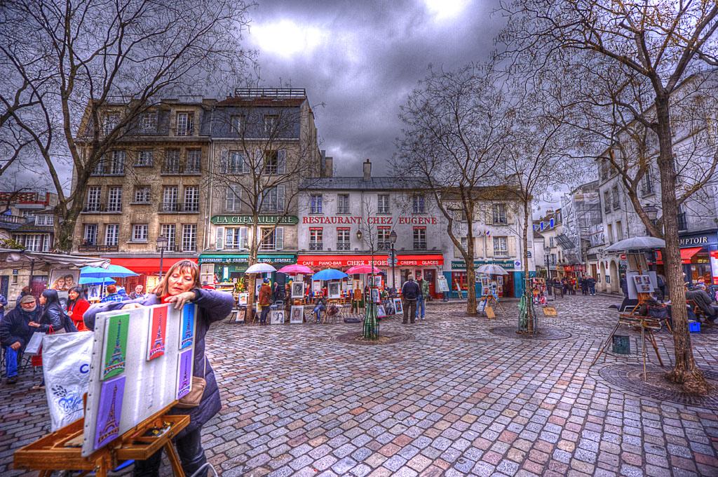 La butte Montmartre