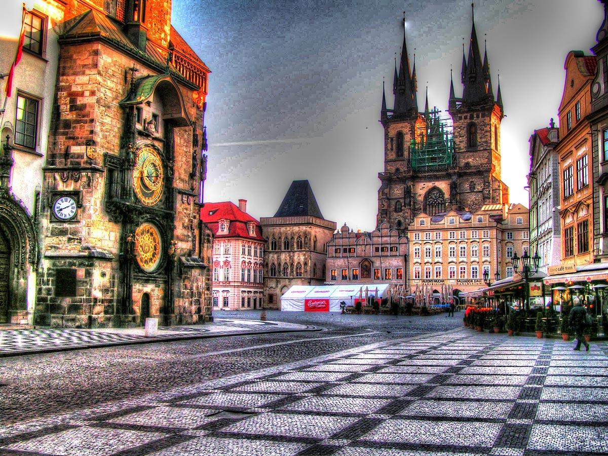 voyager à Prague, République Tchèque