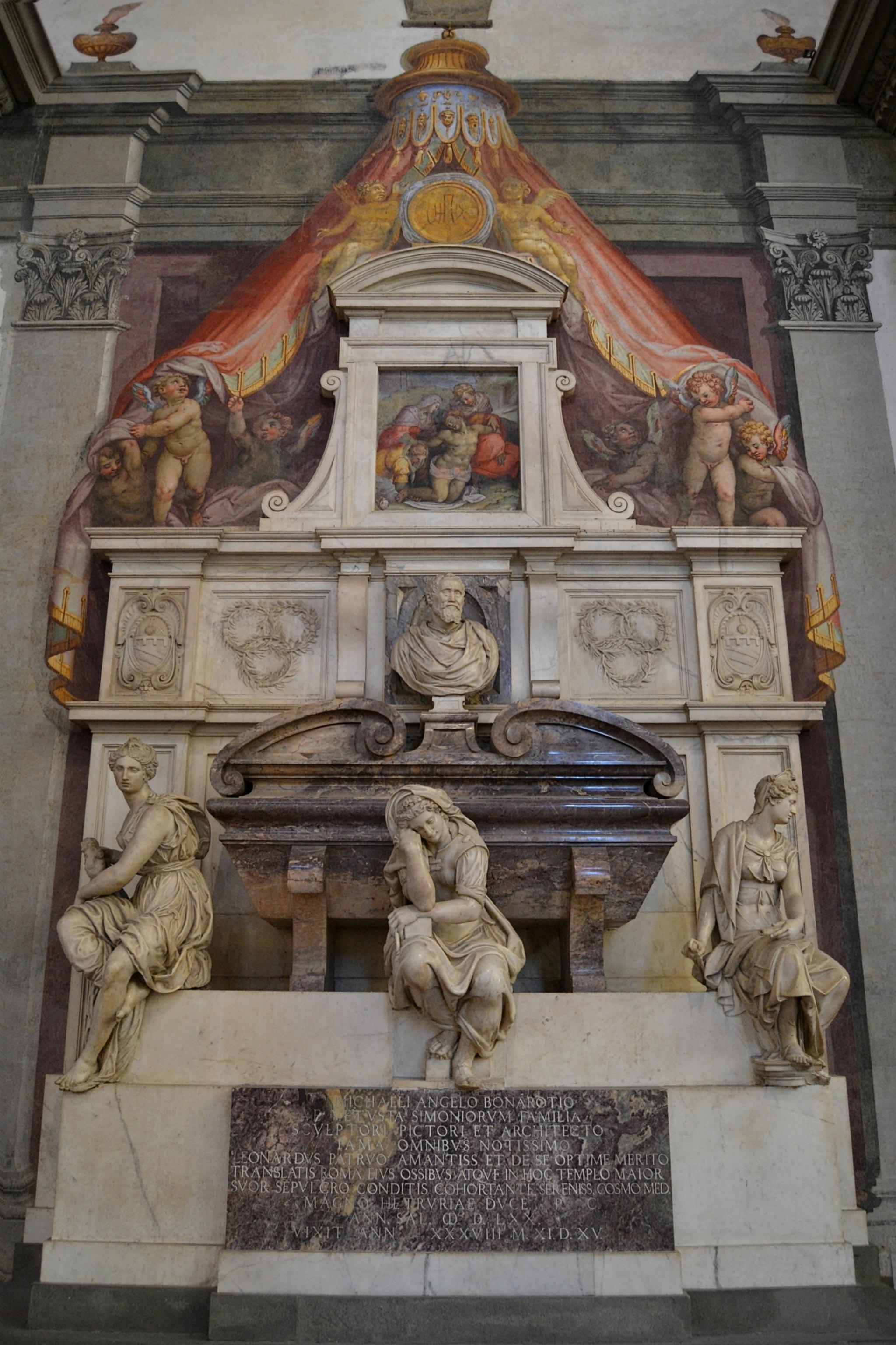 Tombe de Michelangelo