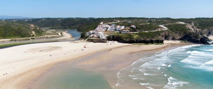 plage d'Odeceixe-Aljezur