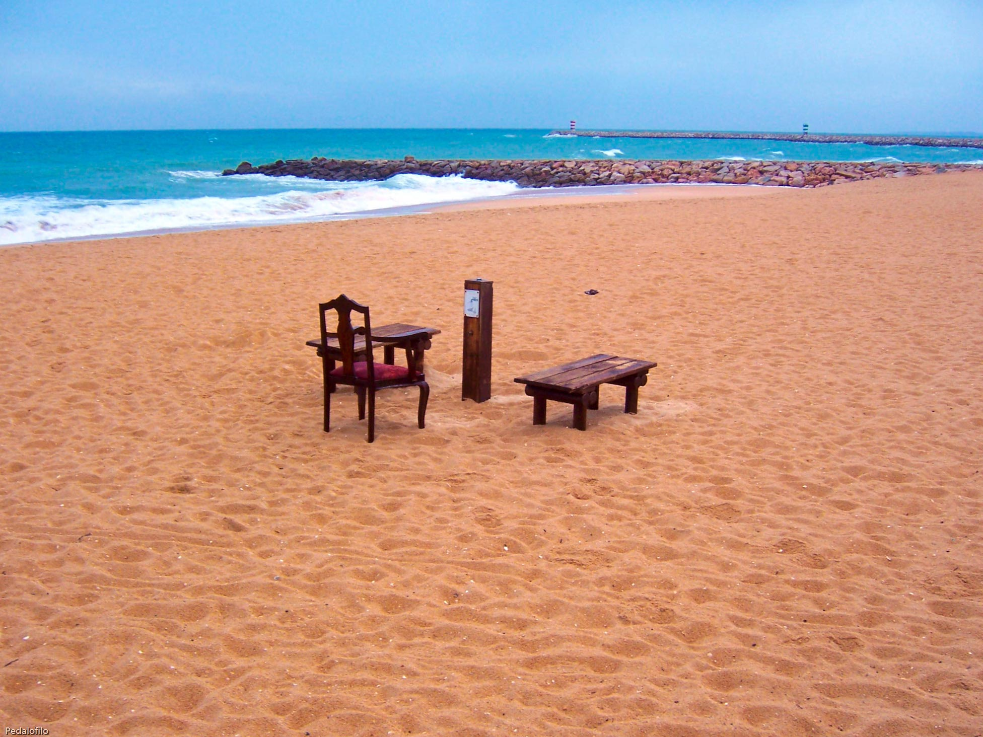 plage de la Quarteira