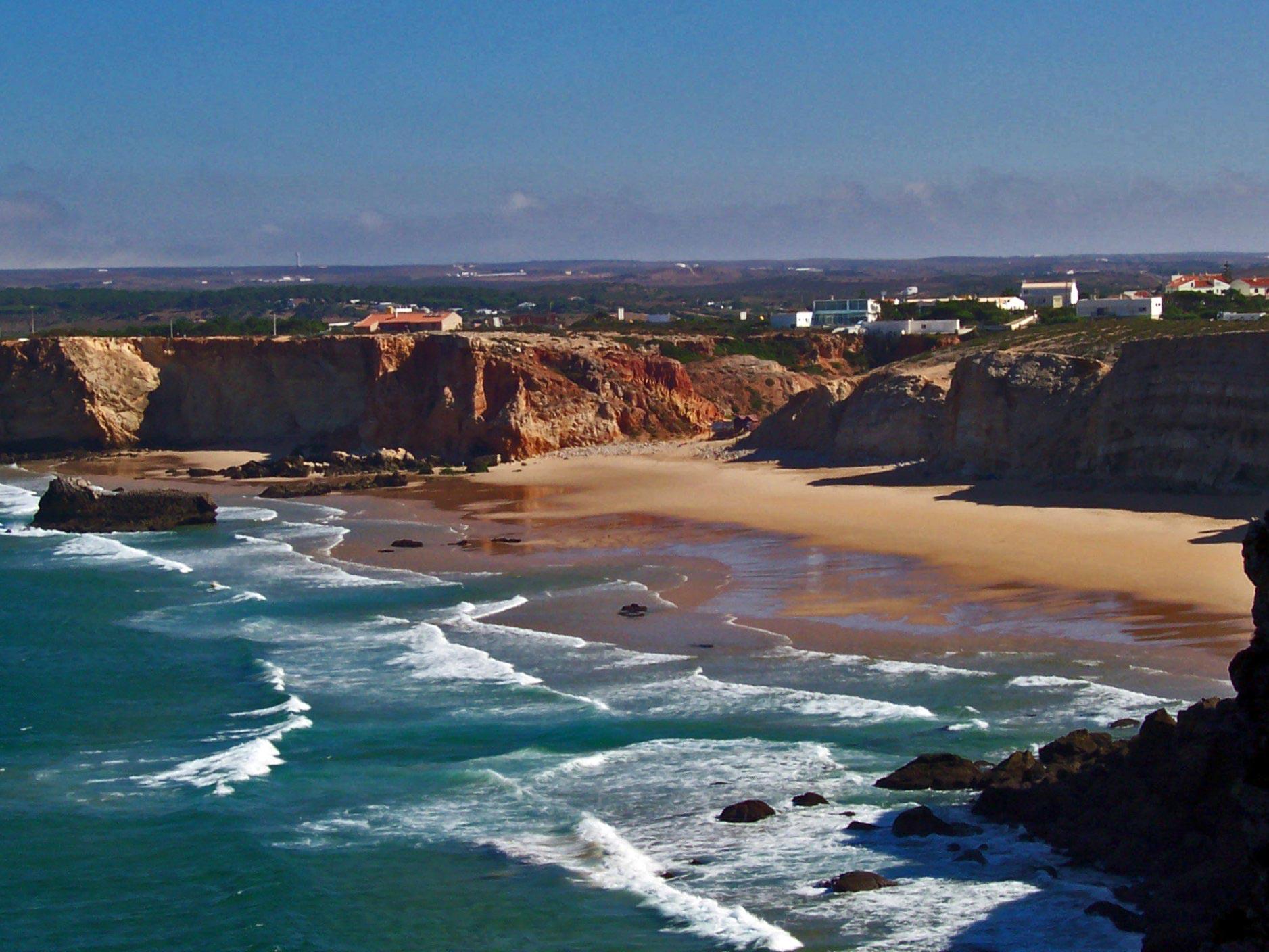La plage de Tonel-Vila do Bispo