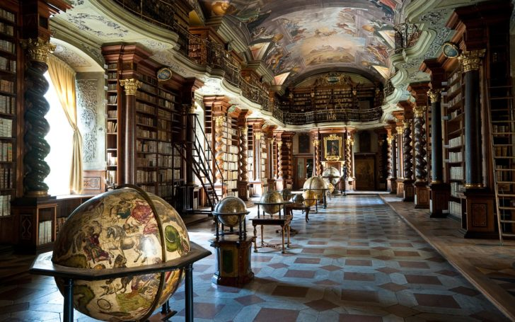 horaire et ouverture bibliotheque clementinum