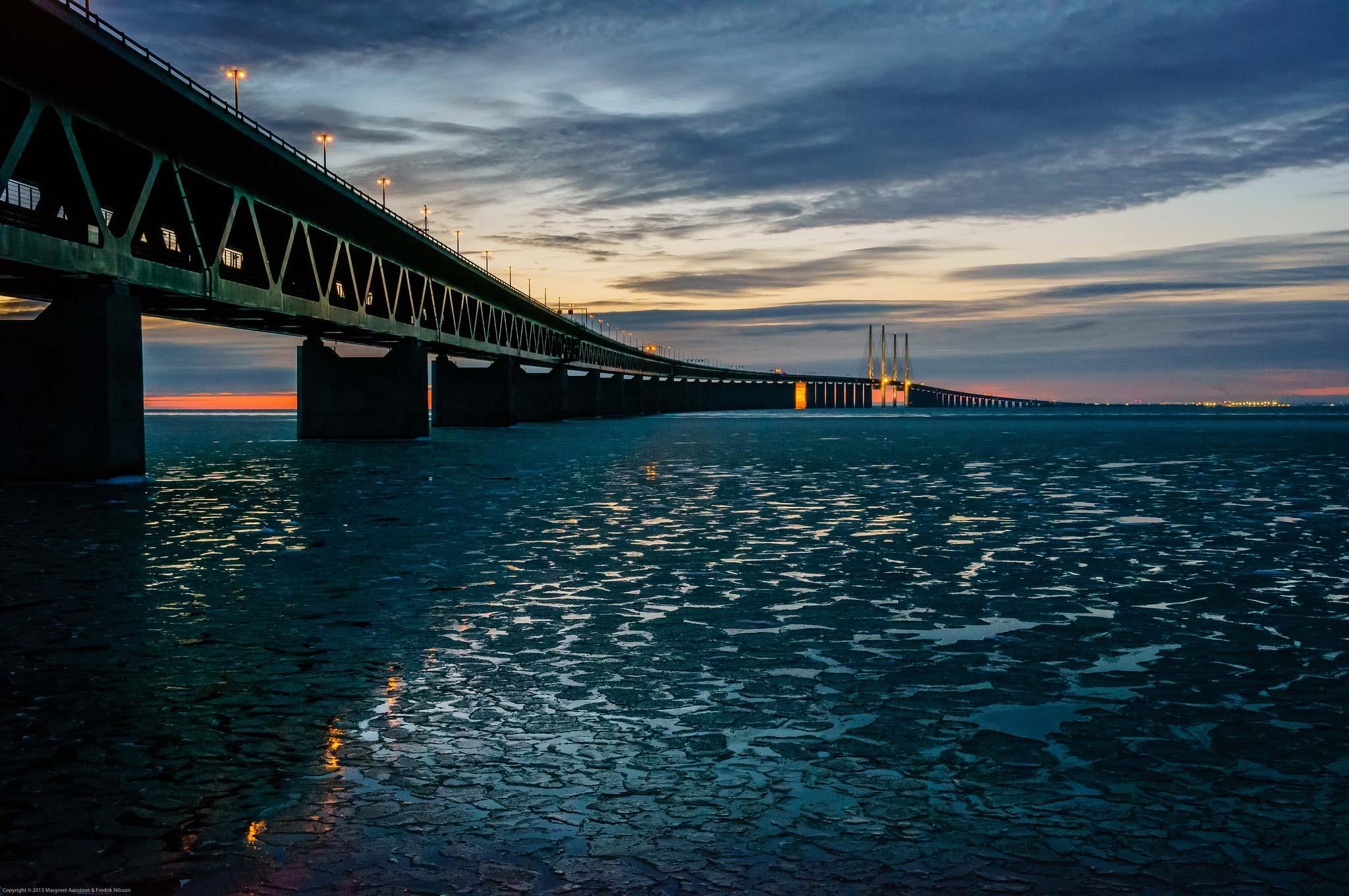 L Incroyable Pont Sous Marin Reliant Le Danemark A La Suede