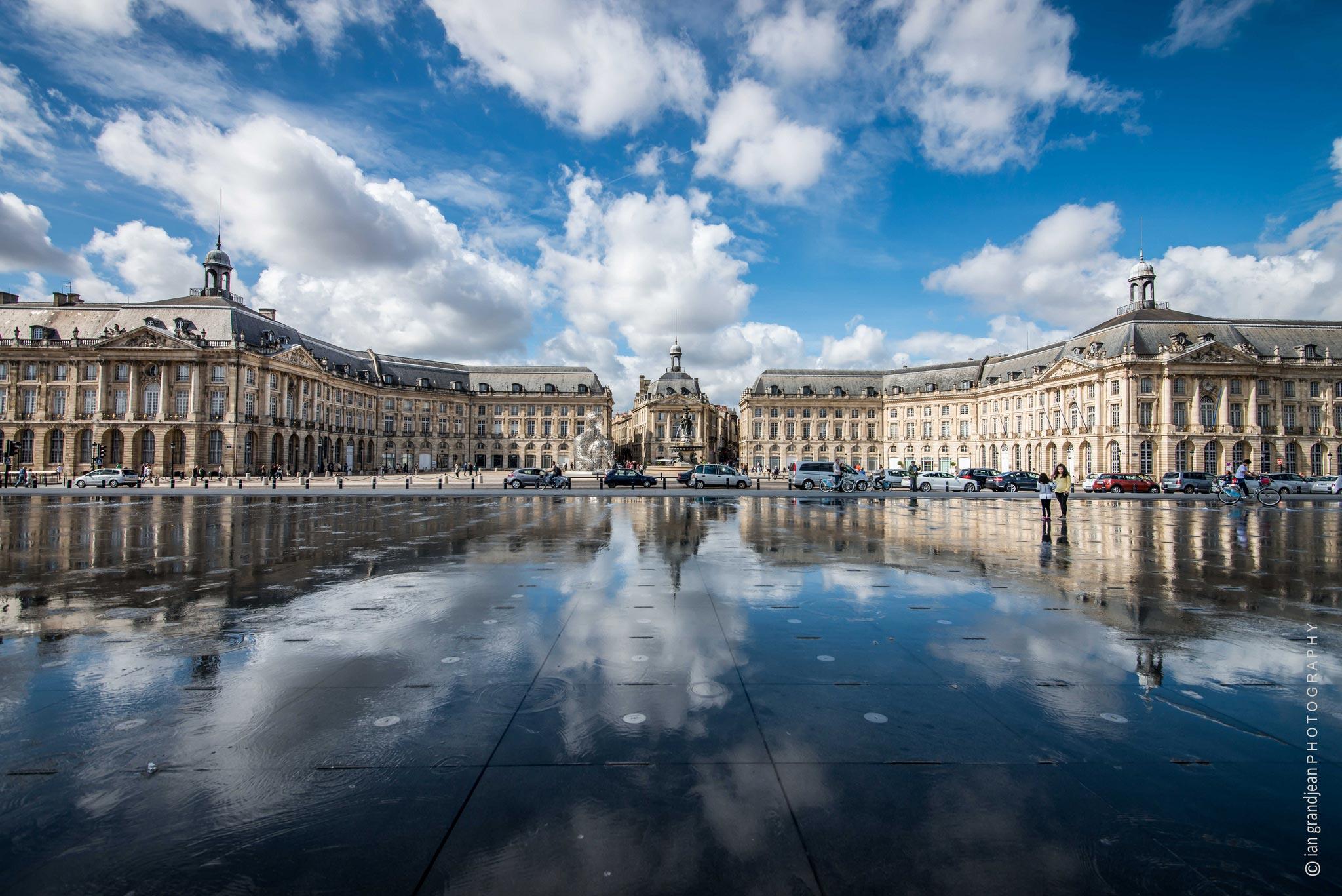Bordeaux la majestueuse place de la bourse - Chambre de commerce bordeaux recrutement ...