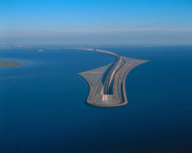 pont de l'Øresund suede danemark