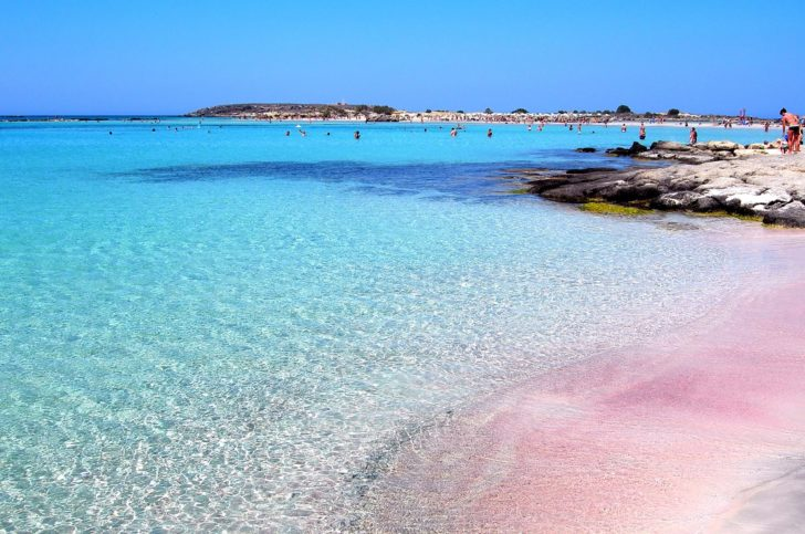 plage d'elafonissi