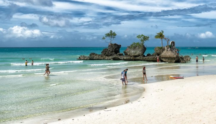 plage white beach boracay