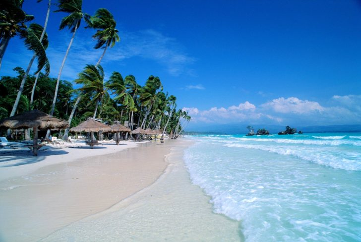 que faire à boracay : la plage de white beach