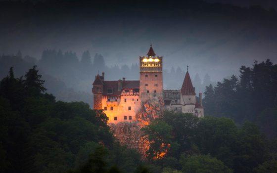 Chateau de Dracula en Roumanie