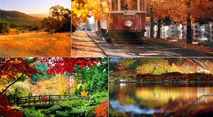 top 15 des plus beaux endroits à visiter en automne