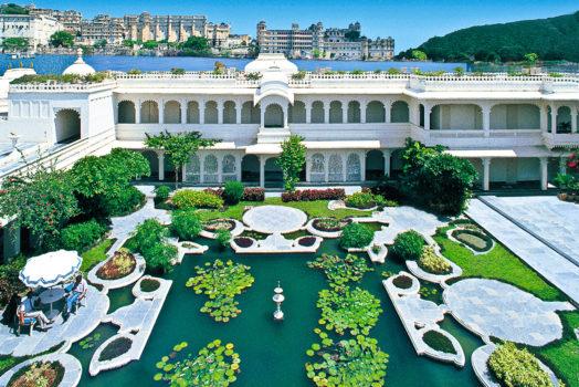 Taj Lake Palace en Inde