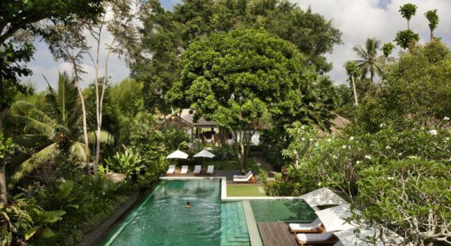 La vallée de Tjampuhan à Bali