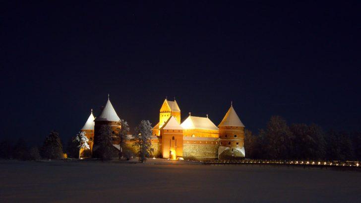 Chateau de Trakaï, Lituanie