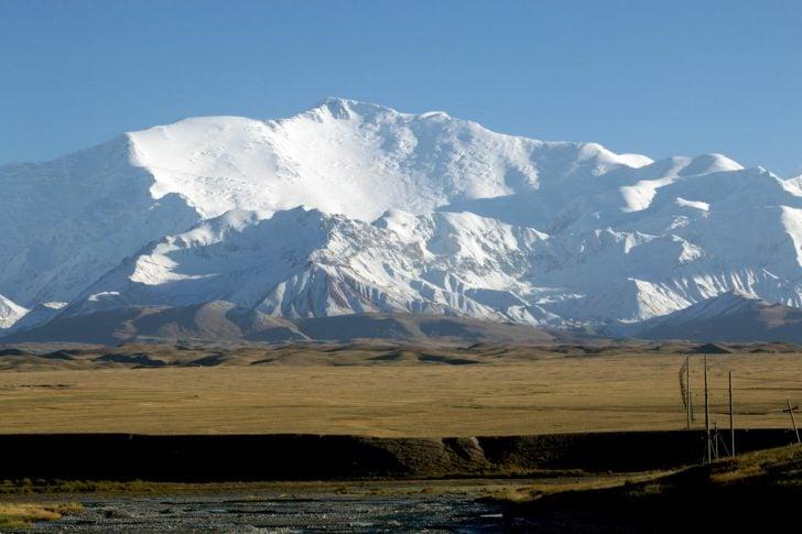 carte tadjikistan pamir montagnes