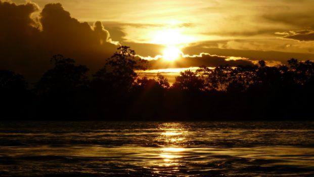Coucher de soleil au Brésil