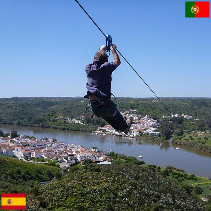 frontière entre l'Espagne et le Portugal