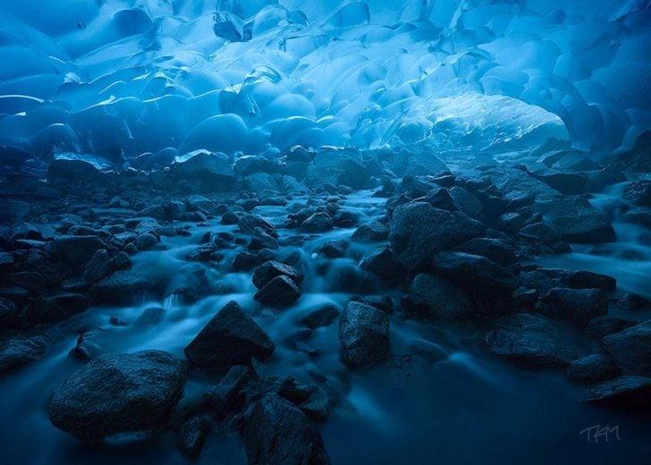 Glacier Mendenhamm à Juneau, Alaska