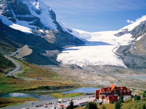 glacier althabasca