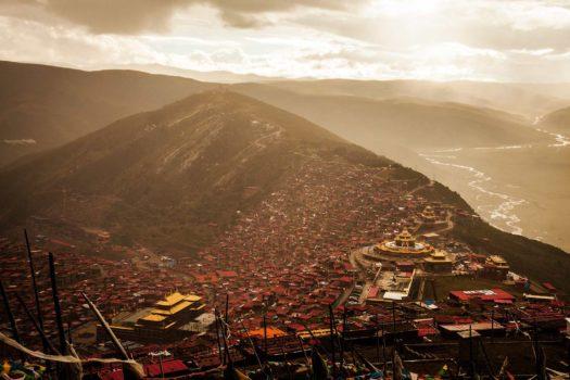 larung gar, la ville bouddhiste