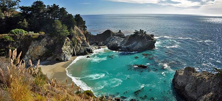 Julia-Pfeiffer-Burns-State-Park-en-Californie