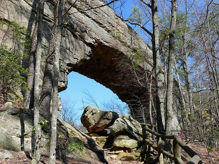 Natural-Bridge-State-Resort-Park-dans-le-Kentucky