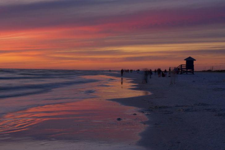 Siesta Key beach - les 20 plus belles plages d'Amérique du Nord