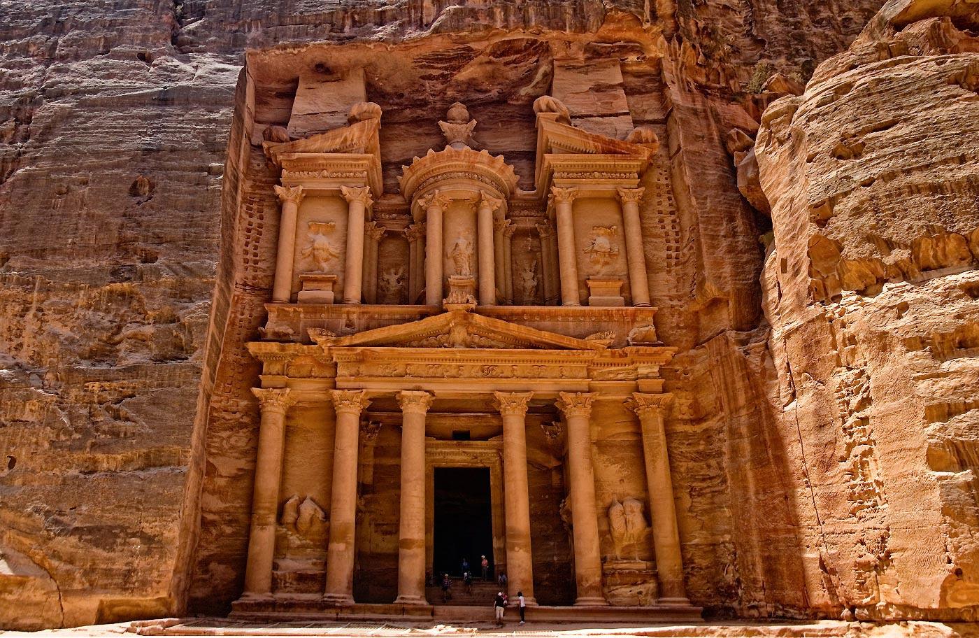 petra, la cité antique, jordanie