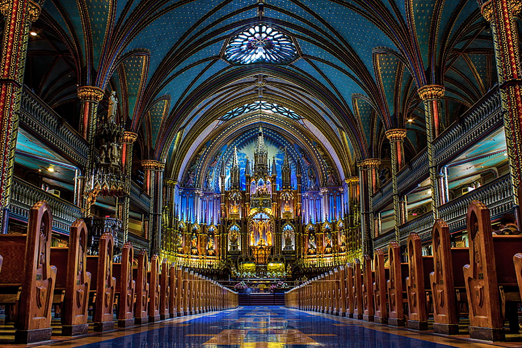Basilique-Notre-Dame-de-Montréal