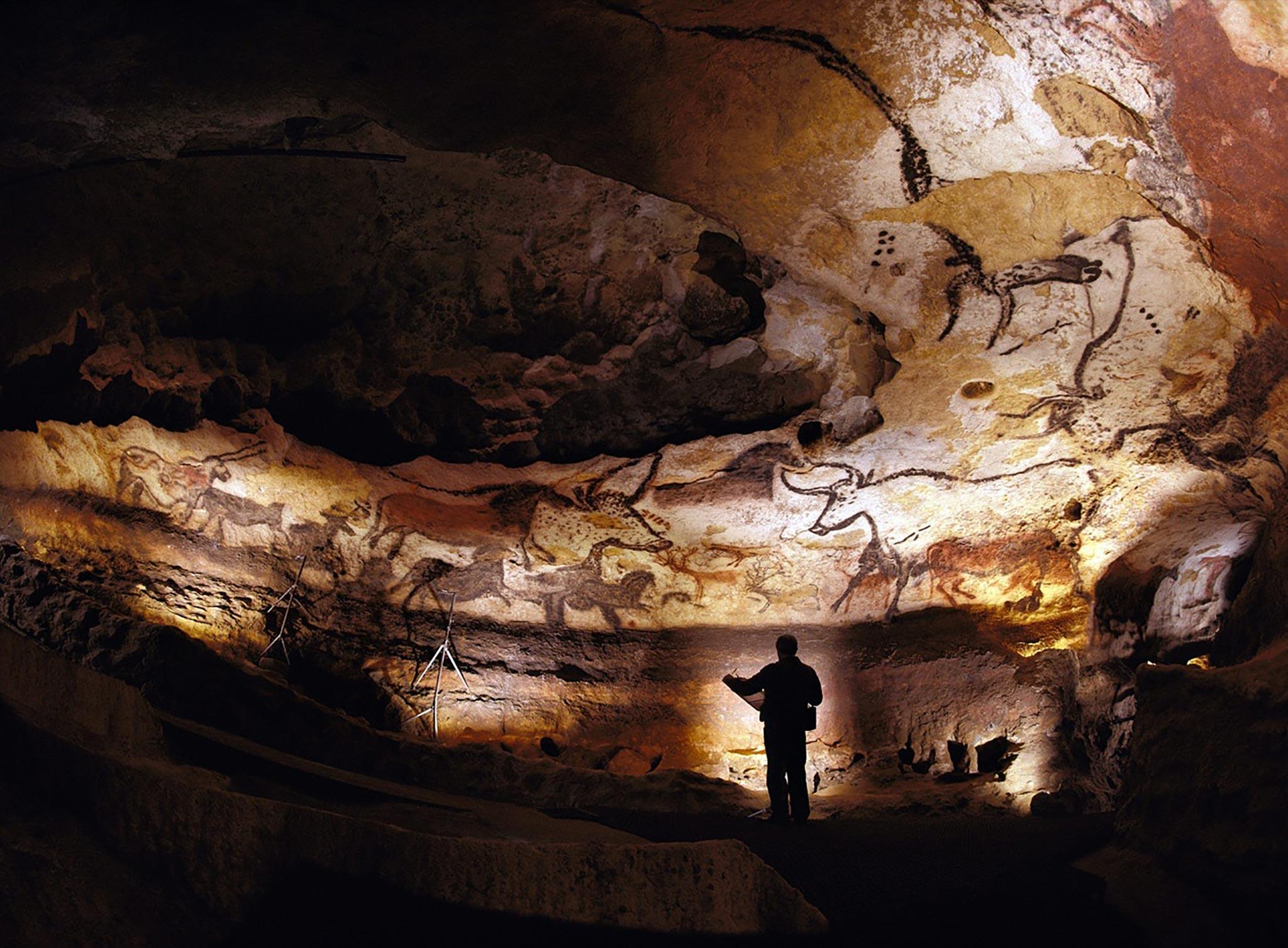 Grotte-de-Lascaux,-France