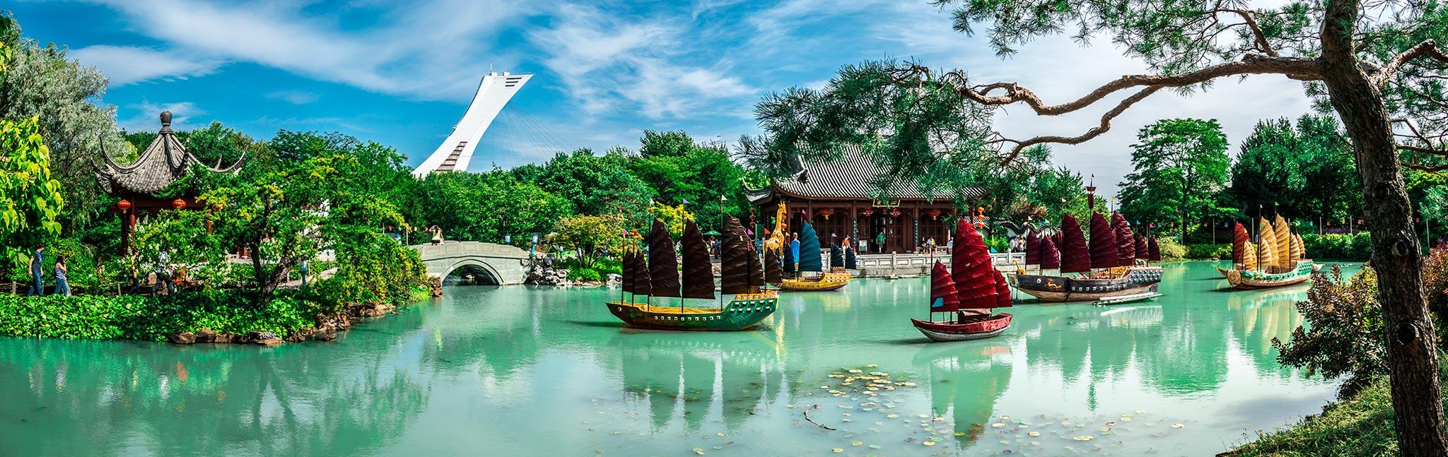 20 lieux symboliques visiter montr al for Jardin botanique montreal 2016