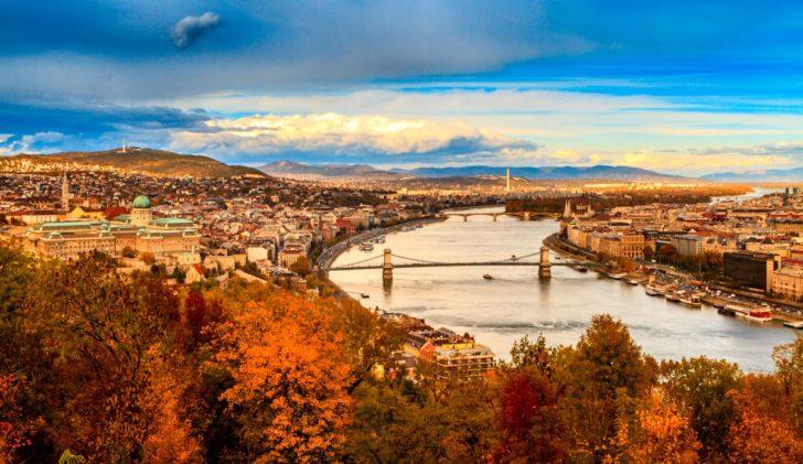 Budapest en automne