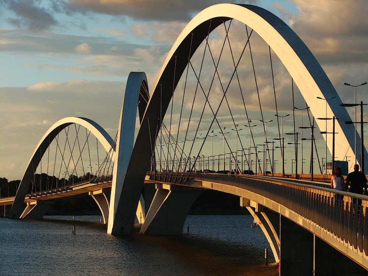 Pont Juscelino Kubitschek à Brasilia