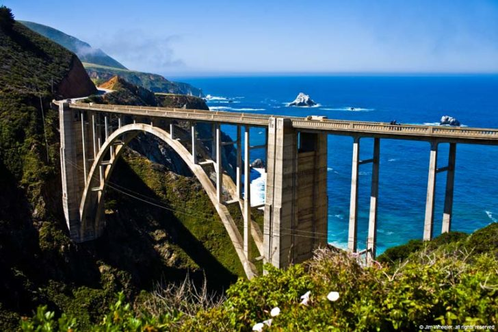 Pont Bixby Creek Bridge