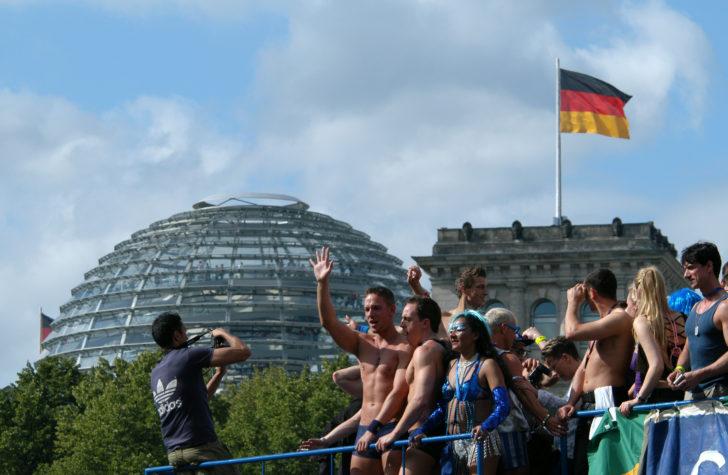 Gay pride annuelle à Berlin