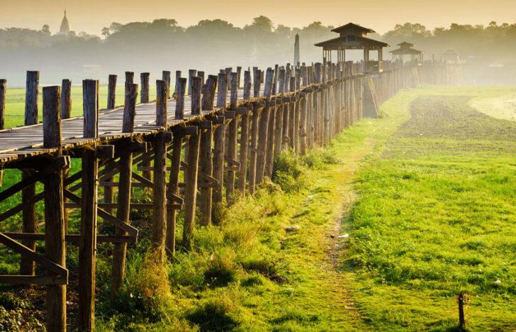 Pont D'u Bein, Myanmar