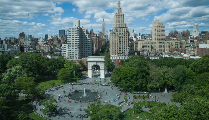 Washington Place, Greenwich Village, New York