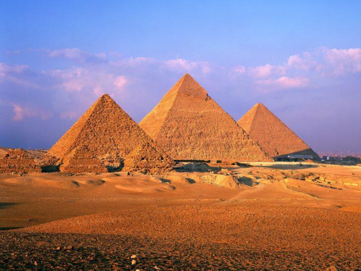 Pyramides du Caire