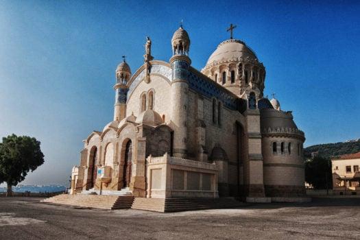 La basilique Notre Dame d'Afrique