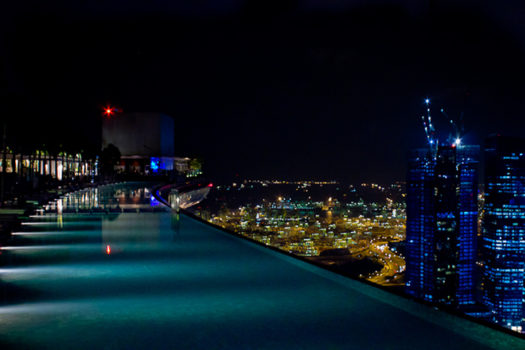 Piscine Marina Bay Sands Resort à Singapour