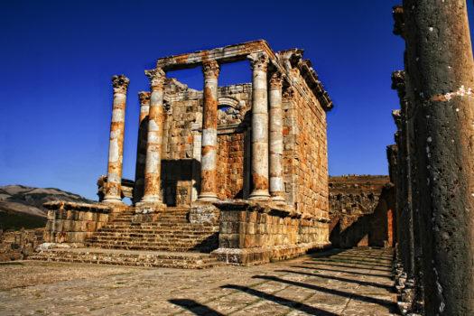 Le temple Septimien