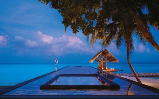 Piscine Reethi Rah One, Maldives