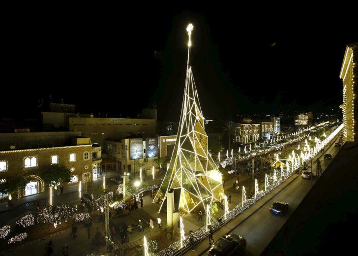 Liban, Byblos, sapin doré
