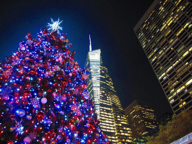 Etats-Unis, NYC, Noël