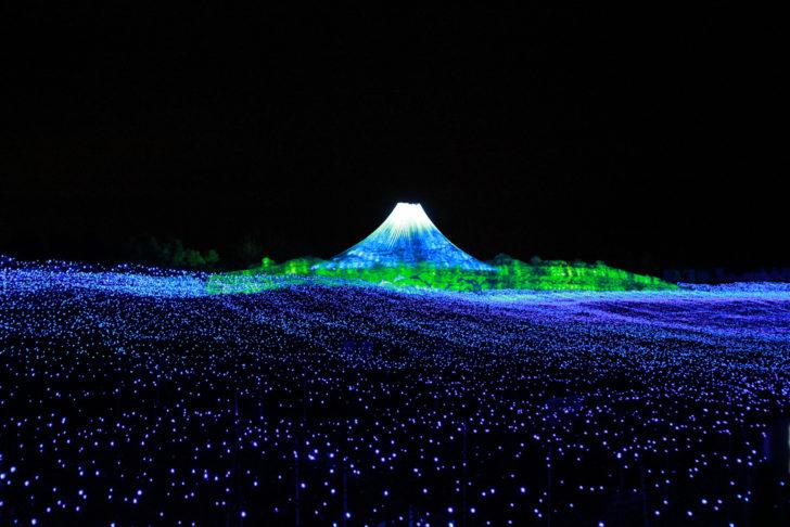 Japon, festival lumière, Nabana