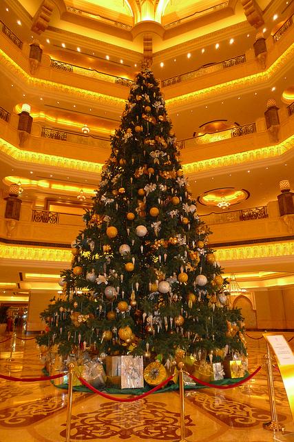 Abu Dhabi, sapin de Noël