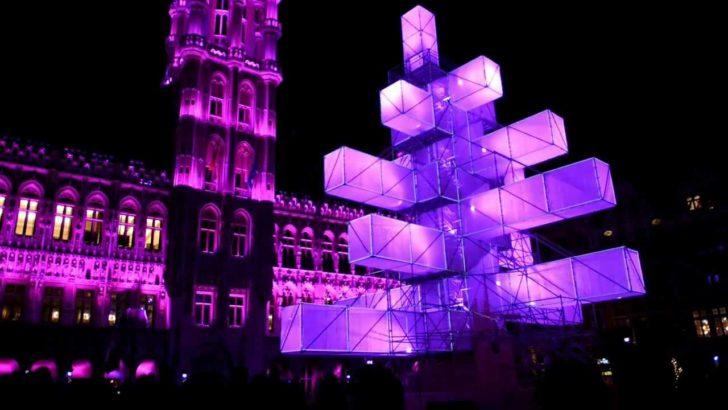 Bruxelles Sapin Noël