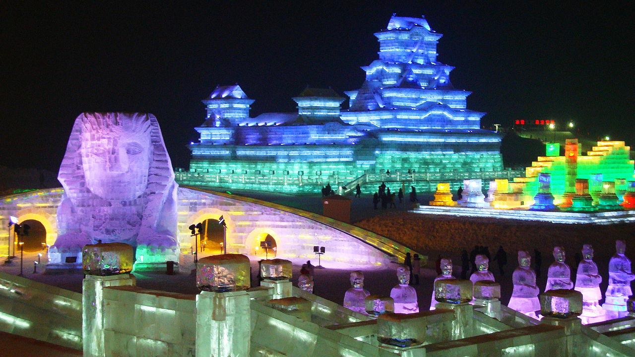 Festival Harbin Chine
